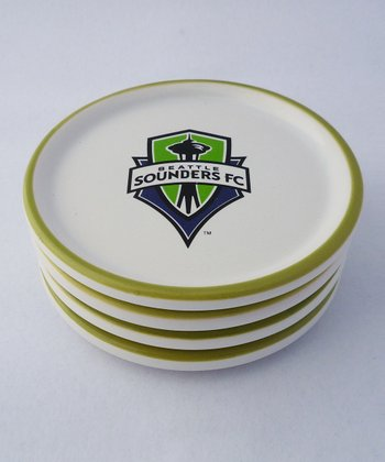 Agnik Design Seattle Sounders Coaster - Set of Four