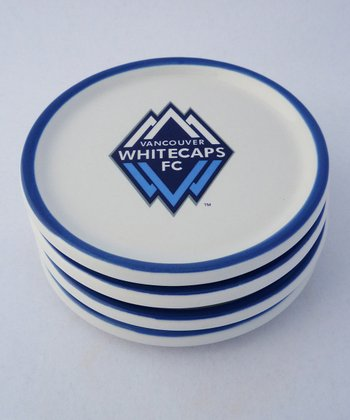 Vancouver Whitecaps Coaster - Set of Four