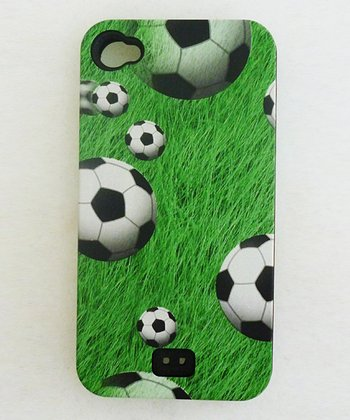 Agnik Design Grass Soccer Ball Case for iPhone 4/4S