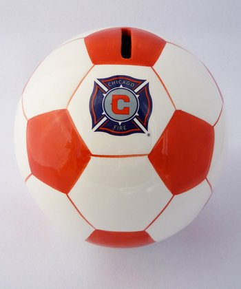 Chicago Fire Soccer Money Bank