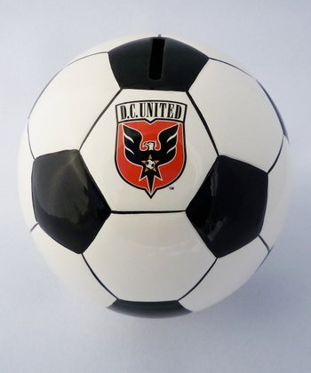 D.C. United Soccer Money Bank