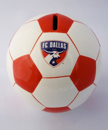 Agnik Design FC Dallas Soccer Money Bank