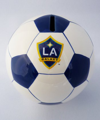 Agnik Design LA Galaxy Soccer Money Bank