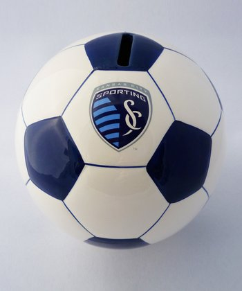 Agnik Design Sporting Kansas City Soccer Money Bank