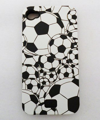 Overlapping Soccer Ball Case for iPhone 4/4S