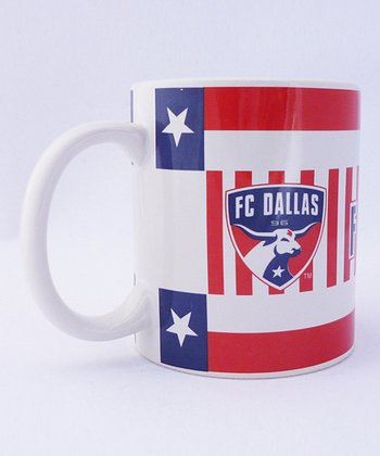 Agnik Design FC Dallas Scarf Mug - Set of Two