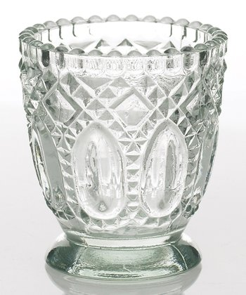 Clear Heirloom Candleholder