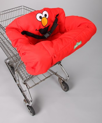 ABC Fun Pads Red Elmo Shopping Cart Seat Cover