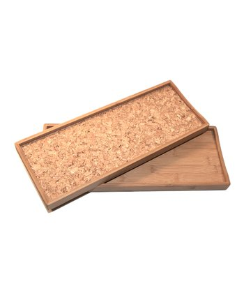 Bamboo & Cork Tray