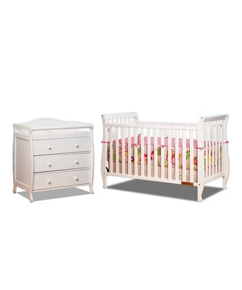 AFG baby furniture White Naomi Convertible Crib & Changer