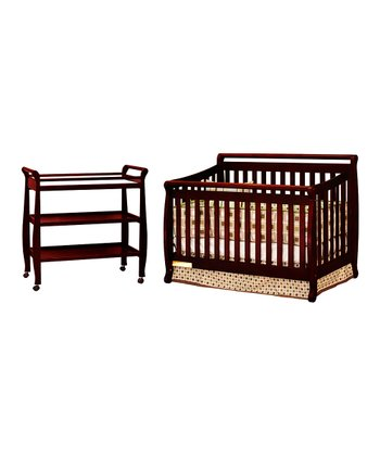 Cherry Amy Crib & Changer Set