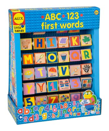 ABC & 123 First Words Game