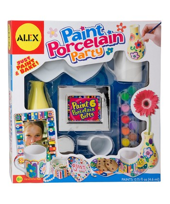 Paint Porcelain Party Kit