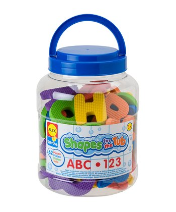 ABC & 123 Shapes for the Tub Set