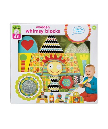 Mix 'n' Max Wooden Whimsy Blocks