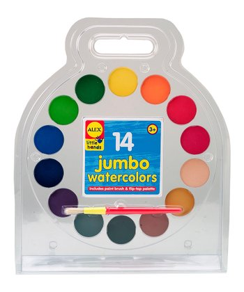 Jumbo Watercolors Palette