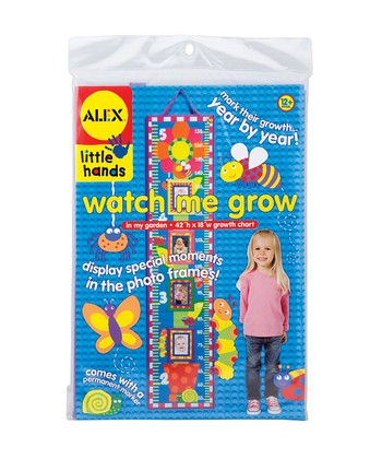 Watch Me Grow: In My Garden Growth Chart