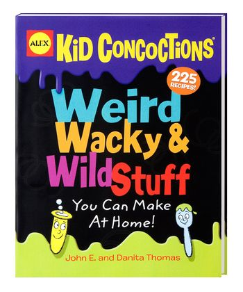 Weird Wacky & Wild Stuff Soft Cover Book
