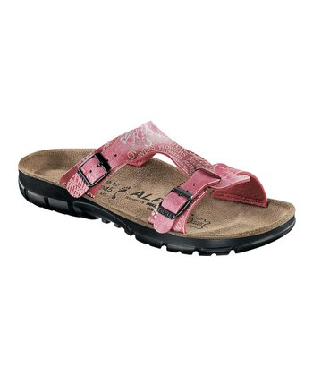 Rose Letter Mix T-Strap Sandal