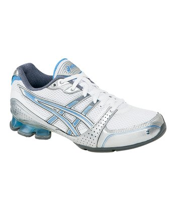 White & Silver GEL-Enthrall Cross-Training Shoe - Women