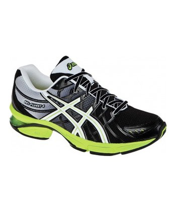 Black & Green GEL-Fluent 4 Running Shoe - Men