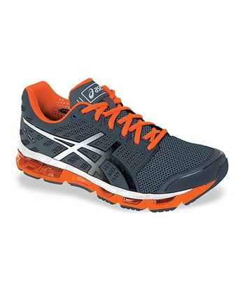Storm & Electric Orange GEL-Cirrus33 Running Shoe - Men