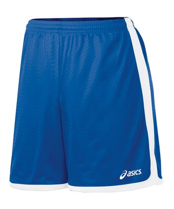 Royal Blue Team Mesh Shorts - Women