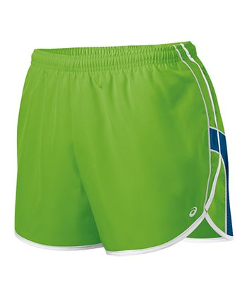 Greenery & Peacock Quad Shorts - Women