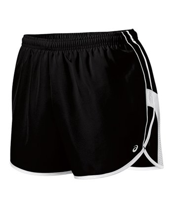 Black & White Quad Shorts - Women