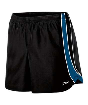Black & Peacock Shorts - Women