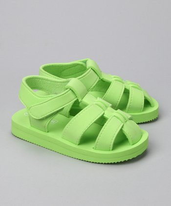 Lime Fisherman Sandal