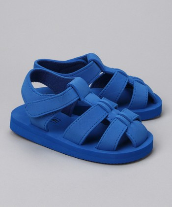 Blue Fisherman Sandal