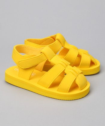 Yellow Fisherman Sandal