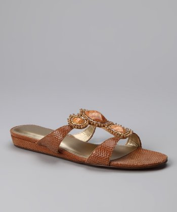 A. Marinelli Natural Dina Sandal