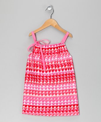 Pink Heart Valentina Dress - Infant & Toddler