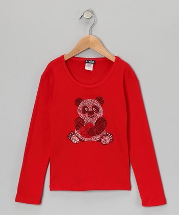 Red Panda Tee - Toddler & Girls
