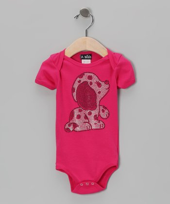 Fuchsia Puppy Bodysuit - Infant