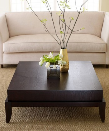 Espresso Square Morgan Coffee Table