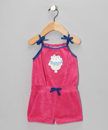 Pink Ice Cream Romper - Infant & Toddler