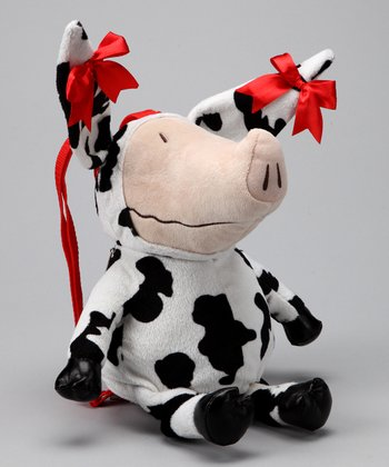 OLIVIA Plush Cow Backpack