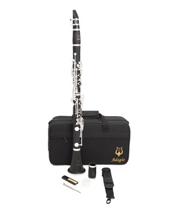 Nickel-Plated Clarinet Set