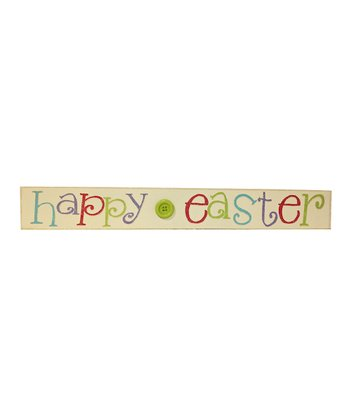 Pastel 'Happy Easter' Button Sign