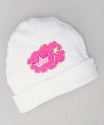 Pink Crown Beanie - Infant