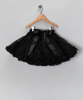Black Petite Pettiskirt - Infant, Toddler & Girls