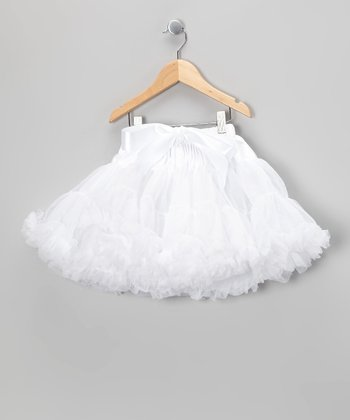 White Petite Pettiskirt - Infant