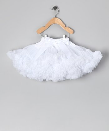 White Pettiskirt - Infant & Toddler