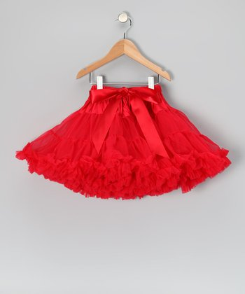 Red Petite Pettiskirt - Infant