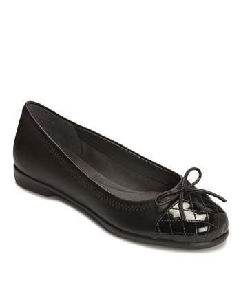 Black Becharmed Ballet Flat