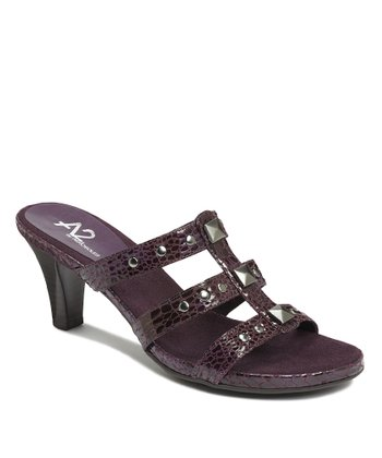 Purple Powprika Sandal