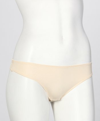 Beige Nancy Thong